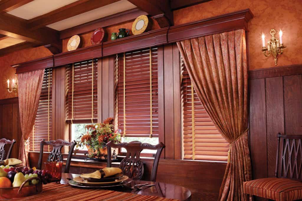 rèm gỗ cao cấp biệt thự