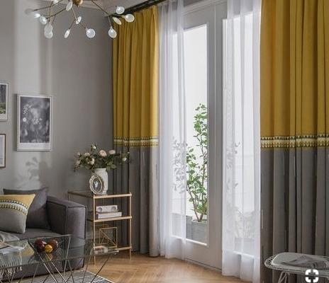 Các kiểu rèm được dùng làm rèm cửa ra vào phòng khách phổ biến